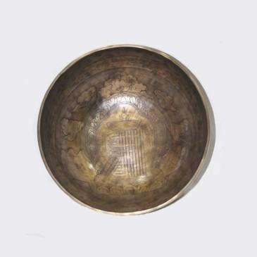Jam Itching & Carving Singing Bowl EHS02