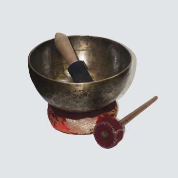 Jam Carving & Itching Singing Bowl EHS04